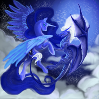 Luna and the Protecter by BIackFang
