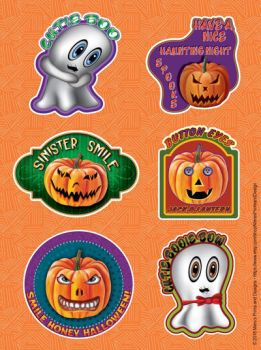 Halloween stickers  by Mere771