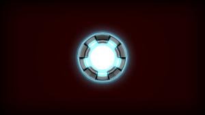 Arc Reactor - Wallpaper by Luned13
