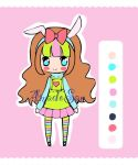 Chibi bunny adoptable CLOSED by AS-Adoptables