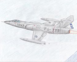 RoCAF F-104 Starfighter by taiwaneseprick
