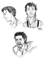 Downey Doodles by Konstance
