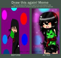 Meme  Before And After  by Invaderdaniela