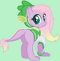 FlutterSpike Mare AdoptableClosed by unoriginaI