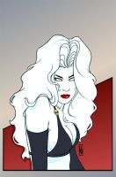 Lady Death 3 Art Deco by MDiPascale