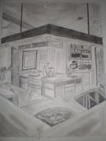 A Kitchen of Dreams by Sphynxxie