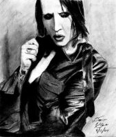 Marilyn Manson by son-of-salmon