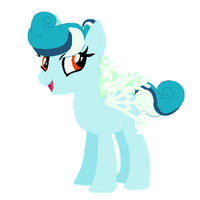 Snowflake pony- adoptable OPEN by WhimsicalxDreams