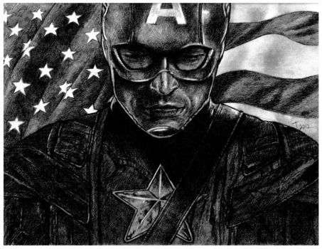 The Avengers: Captain America by ToniMariaAli
