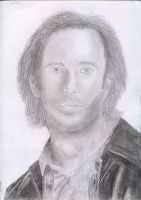 desmond hume by Ninails
