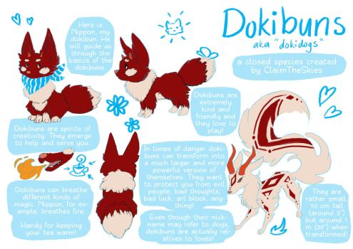 Dokibuns - a closed species by ClaimTheSkies