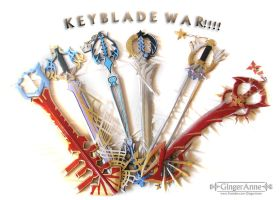 KEYBLADES by GingerAnneLondon