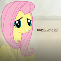Lovato - For the Love of a Daughter (Fluttershy) by AdrianImpalaMata