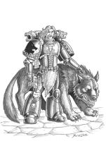 Wolf Guard and Pet by Taman88