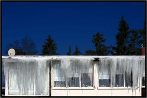 Icy curtain by deaconfrost78