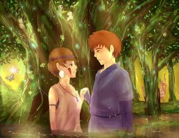 Mononoke Hime- We Meet Again by Immature-Child02