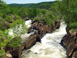 Great Falls of the Potomac 13 by Dracoart-Stock
