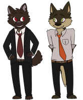 ace detectives by dopegoat