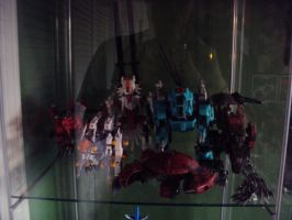 zoids collection as of 11.19.2011 mid shelf 1 by spartan049820