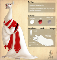 KFP - OC - Mei Reference Sheet by Shaiger
