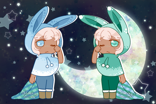 Twin Night Sprites [CLOSED] by D-issimulate