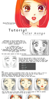 Tutorial color manga by NaruOc