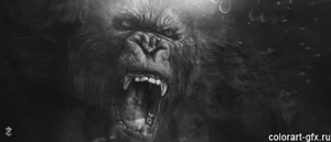 king kong by colorart-gfx