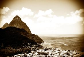 Pitons - Saint Lucia by rauljoe