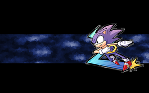 Sonic Wallpaper by Icyfrodo