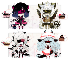 [CLOSED] ADOPT AUCTION 215 - BlindLace by Piffi-adoptables