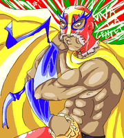 LUCHA LIBRE by Gustov