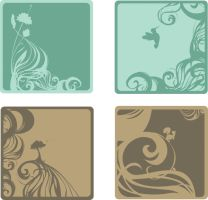 Mailer - Coasters by Spambi