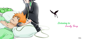 Ichiruki : Listening to Lovely Song... by Neilund