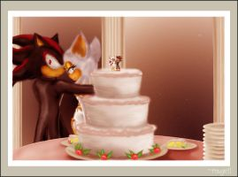 Shadow n' Rouge's Wedding by rouge11