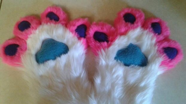 Custom Paw Commission by Luminary! by OurMassHysteria
