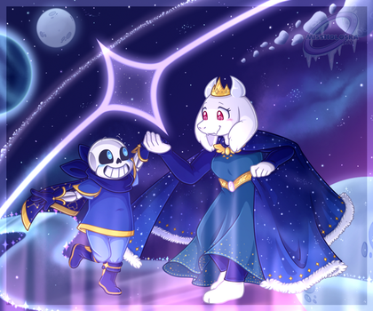Outerswap - Soriel AU Week Day 7 by MissHoloska