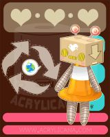 Eco Love Bot by marywinkler