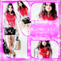 +PhotopackPng Selena Gomez - HAP by iSparksOfLies
