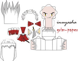inuyasha pattern by Grim-paper