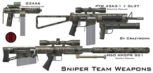 Sniper Team Weapons -10-23-09- by CrazyRonn