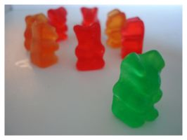 Lonely Gummy Bear 2 by taperjeangirl