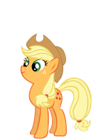 applejack vector by keeveew