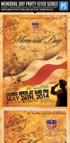 Memorial Day Flyer, We will Never Forget by ShermanJackson