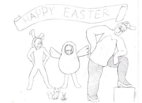 Happy Easter by random-all-around
