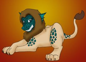 Alligator Lion Type thingy by Blue-Dragon22