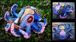 SOLD Cuddles The Baby Kraken With Its First Ship! by Wood-Splitter-Lee