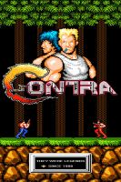 Contra Game Poster by zerogalaxy