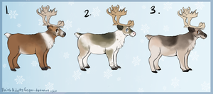 Reindeer adopts - closed - by PointAdoptsforyou