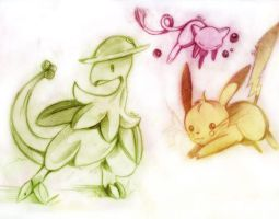 Pokeyman sketch by salanchu
