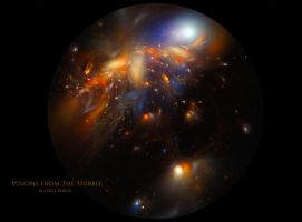 Visions from the Hubble by Ali Ries 2016 by Casperium